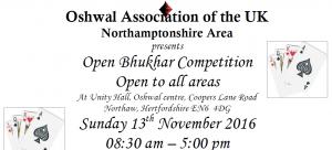 Bhukhar Competition @ Oshwal Centre   England   United Kingdom