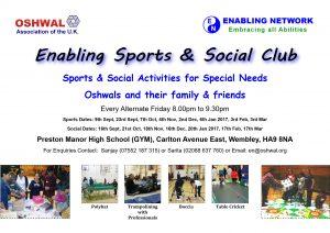 Enabling Sports & Social Club @ Preston Manor High School   Wembley   England   United Kingdom