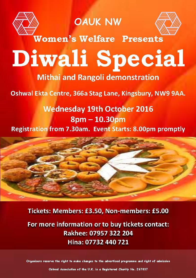 Mithai and Rangoli demonstration @ Oshwal Ekta Centre   Edgware   England   United Kingdom