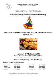 Salsa Night @ Woodhouse College | England | United Kingdom