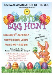 Easter Egg Hunt - An Event sponsored by the £120 Scheme @ Oshwal Shakti Centre | England | United Kingdom