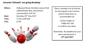 Bowling @ Hollywood Bowl | Braunstone Town | England | United Kingdom