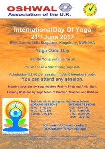 International Yoga Day @ Ekta Centre | England | United Kingdom