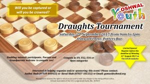Draughts Tournament @ Oshwal Centre | England | United Kingdom