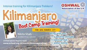 Kilimanjaro Boot Camp Training @ Haydon School | England | United Kingdom