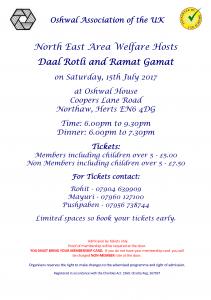 Daal Rotli @ Oshwal Centre | England | United Kingdom