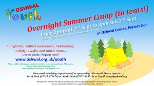 Oshwal Summer Camp 2017 @ Oshwal Centre | England | United Kingdom