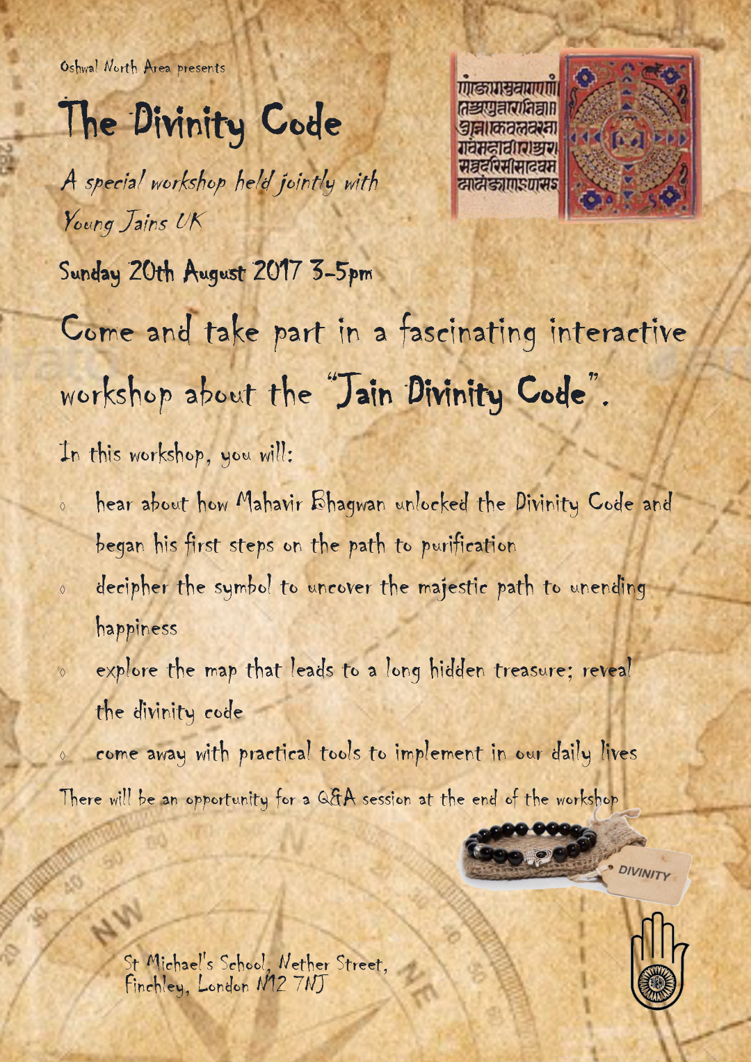 The Divinity Code @ St. Michael's School | England | United Kingdom