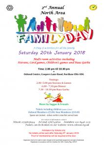 Family Day CANCELLED @ Oshwal Centre | England | United Kingdom