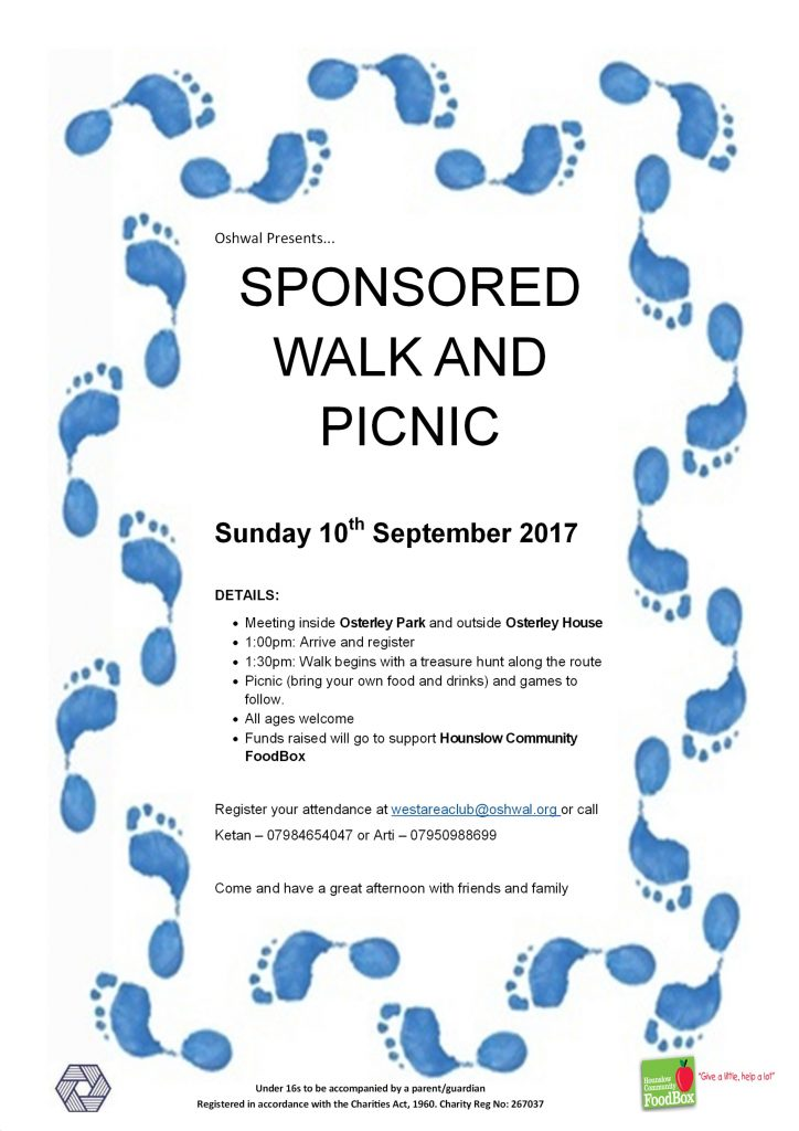 Sponsored Walk and Picnic - Osterley Park @ Osterley Park | England | United Kingdom