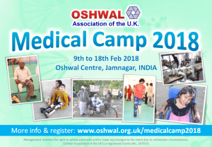 Oshwal Medical Camp 2018