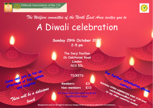 Diwali 2017 @ North East @ The Darji Pavillion | England | United Kingdom