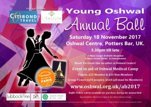 Oshwal Annual Ball 2017 @ Oshwal Centre | England | United Kingdom