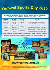 Oshwal Sports Day @ Hertfordshire Sports Village | England | United Kingdom