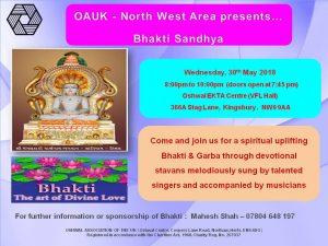 Bhakti Sandhya 2018 @ Oshwal Ekta Cente | England | United Kingdom