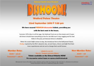 Dishoom @ Watford Palace Theater | England | United Kingdom