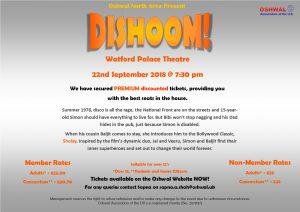 Dishoom @ Watford Palace Theater | England | United Kingdom