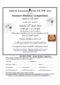 Summer Bhukhar Competition @ Oshwal Ekta Centre | England | United Kingdom