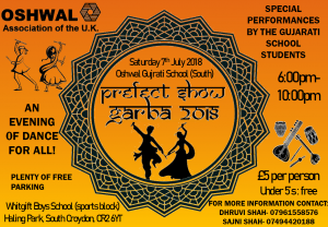 Prefect Show Garba 2018 @ Whitgift Boys School | England | United Kingdom