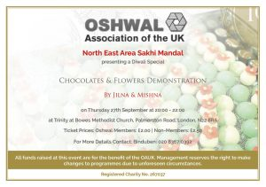 Chocolates and Flowers Demonstration @ Trinity at Bowes Methodist Church | England | United Kingdom