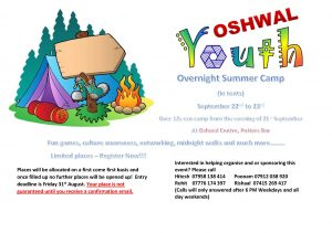 Summer Camp 2018 @ Oshwal Centre | Cuffley | England | United Kingdom