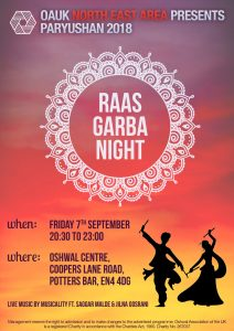 North East Paryushan Raas Garba