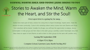 Workshop with Young Jains on Jain Story Telling @ Compton School | England | United Kingdom