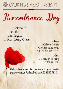 North East Remembrance Day @ Oshwal Centre | United Kingdom