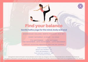 North Area Saturday Yoga @ Woodhouse College – Canteen