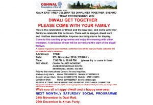 East Area Diwali @ CANON PALMER ACADEMY | England | United Kingdom
