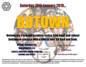 Botown (sold out) @ Oshwal Centre | England | United Kingdom