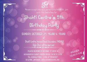 Shakti Centre 5th Birthday Party @ Oshwal Shakti Centre | England | United Kingdom