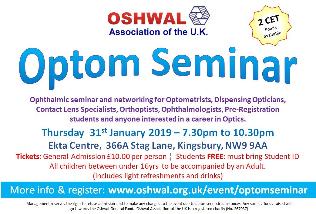 Optom Seminar
