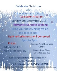 Leicester Area Xmas Party @ Coleman Neighbourhood Centre | England | United Kingdom