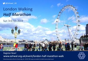 London Walking Half Marathon (February 2019)