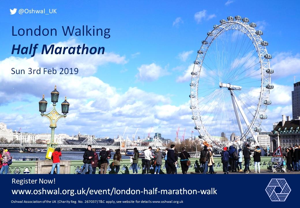 London Walking Half Marathon