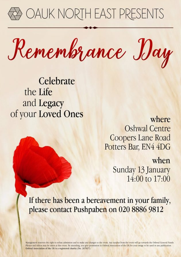 North East Remembrance Day