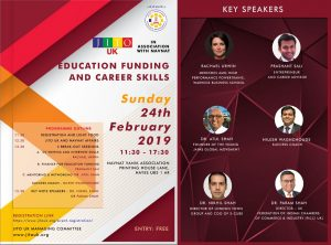 JITO UK Education Funding and Career Skills @ Navnat Vanik Association