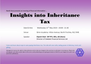 Insights into Inheritance Tax @ Wren Academy