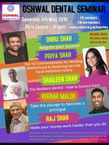 Oshwal Dental Seminar @ Oshwal Ekta Centre