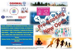 Oshwal Health & Care Awareness Fair @ Oshwal Centre