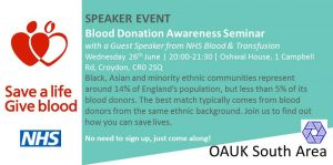 Blood Donation Awareness Seminar @ Oshwal Mahajanwadi