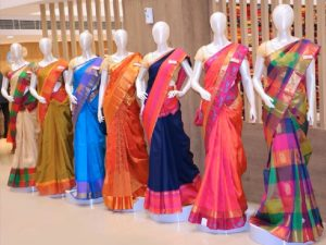 Saree collection @ Oshwal House,