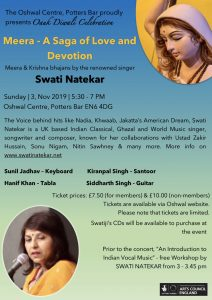 Diwali Celebration - A Saga of Love and Devotion @ Oshwal Centre