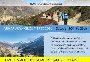Oshwal Annapurna Trek 2020