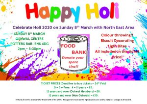 Happy Holi 2020 @ Oshwal Centre